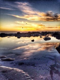 capetown sunsets #sunset #ocean #rockpool Rock Pools, Sunsets, Ocean, Celestial, Outdoor, Natural Swimming Pools, Outdoors, Sunset, Outdoor Games