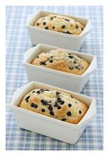 Dollhouse #miniature blueberry bread from Cynthia