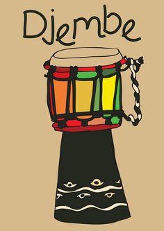 Djembe : African Drum