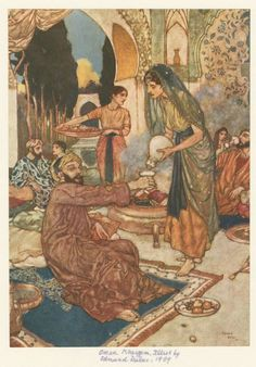 Dulac, for the Rubayat of Omar Khayyam, 1909.