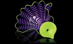 Violet Persian Pair Studio Edition from Chihuly Workshop