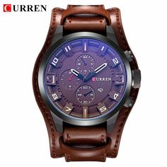 519fd39d958 Details about Relogio Masculino Mens Watches Top Brand Luxury Leather Strap  Waterproof Sport