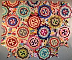 nifty quilts: Spider Web Progress!