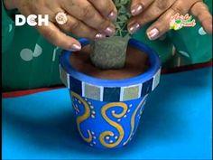 Cactus decorativo - Manualidades Pelusa