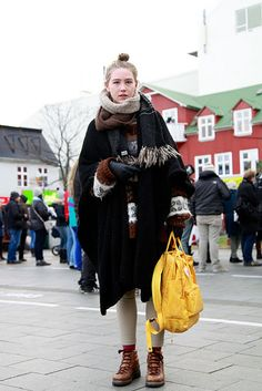 Iceland street style photos are just the best