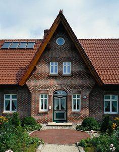 Living 166 klinker hanlo haus for Modernes backsteinhaus