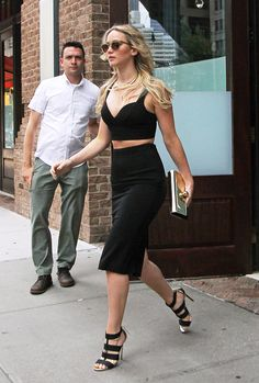 Jennifer Lawrence, jenniferlawurence:   jennifer lawrence wearing all...