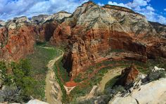 On Angel's wings --  Angels Landing trail of Zion National Park is something to behold