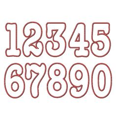 """numbers applique 