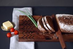 A Cutting Board Inspired by Baltic Mythology