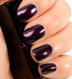 Chanel Taboo Le Vernis Nail Colour Review, Photos, Swatches