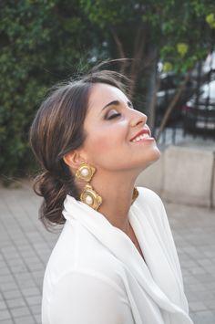 Loreto Gordo - Made in Style - earrings YSL - wedding look - guest - look de invitada - 24FAB