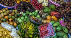 Bali, marché de Bedugul
