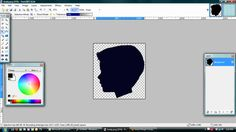 How to make a silhouette on photoshop.