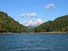 Norris Lake view