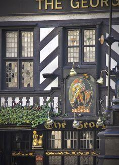 The George pub - The Aldwych, London, UK
