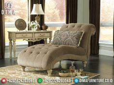 New Sofa Malas Santai Luxury Design Furniture Jepara Terbaru TTJ-1364 Ashley Furniture Sofas, Bedroom Furniture, Furniture Design, Bedroom Decor, Bedroom Sets, Wingback Chair, Accent Chairs, Ottoman, Couch