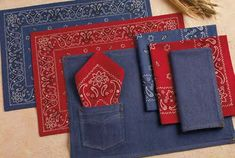 Personalized Western Placemats and Napkins