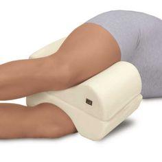 Butterfly Massage Leg Pillow  Bet this would work better during pregnancy than a regular pillow!