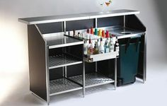 Bar IGLOO IGL WORKSTATION, Designer PEDRALI R&D | Mobile Bars ...