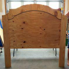 DIY Upholstered Headboard instructions