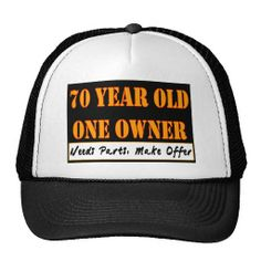 70 Year Old One Owner
