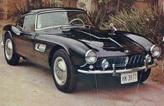 bmw 507 road & track March 1962