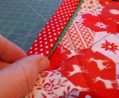 Sewn: Flanges! a tutorial for making a flanged binding
