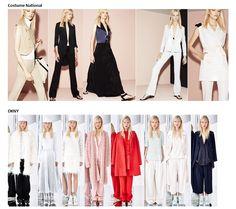 Preview Spring Summer 2015 apparel, shoes and make up by Costume National, DKNY ----- pre-collezione moda trend Primavera Estate 2015 abbigliamento scarpe accessori e trucco