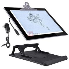 "14""/ 19"" LED Tracing Light Box Stencil Board Drawing Table Pad"