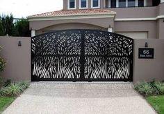 laser cut gates - Google Search