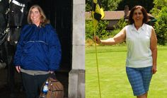 Success Stories - Women who walked theirselves slim #weightloss #fitness