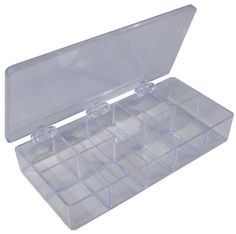 Pico 0003A 7' x 3-3/4' x 1-1/4' Empty 9 Compartment Styrene Plastic Kit Box >>> Read more reviews of the product by visiting the link on the image.