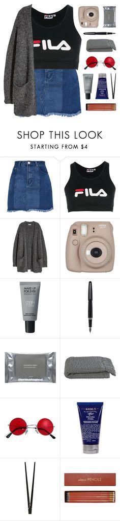 """""""she was signed, sealed, and lost in the post"""" by kristen-gregory-sexy-sports-babe ❤ liked on Polyvore featuring Fila, Fujifilm, MAKE UP FOR EVER, Fountain, Dermalogica, Crate and Barrel, Kiehl's, CB2 and Sloane Stationery"""