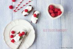 Madame Xícaras: Muffins de Chocolate e Framboesa