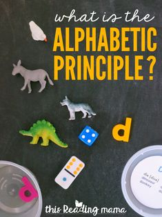 What is the Alphabetic Principle? - This Reading Mama Teaching The Alphabet, Alphabet Activities, Reading Activities, Teaching Reading, Guided Reading, Reading Resources, Educational Activities, Free Reading, Reading Specialist