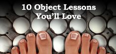 How about THAT title!?!! Object lessons are the stuff! I love them. They give you opportunity to do something fun during the story, they keep everyone's attention, and the last reason is totally selfish…. When you finish an object lesson you often feel like a pretty good teacher for having pulled it off. Just saying… …
