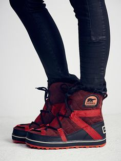 Sorel Glacy Explorer Weather Boot at Free People Clothing Boutique