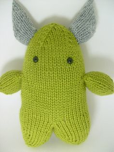 Adorkable Monster: #knit #knitting #free #pattern #freepattern #freeknittingpattern #amigurumiknittingpattern