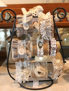 Best 12 Cuff bracelets by Jennifer Dixon Denim Bracelet, Fabric Bracelets, Lace Bracelet, Fabric Jewelry, Boho Jewelry, Jewelry Crafts, Beaded Jewelry, Cuff Bracelets, Jewellery