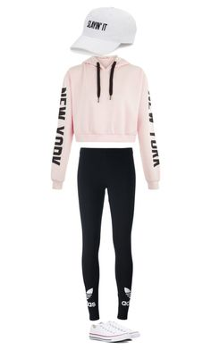 """""""Untitled #1"""" by stsmith1125 ❤ liked on Polyvore featuring adidas Originals, Converse and SO"""