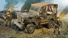 Call of Duty - Infantry Scout Car   Mega Construx