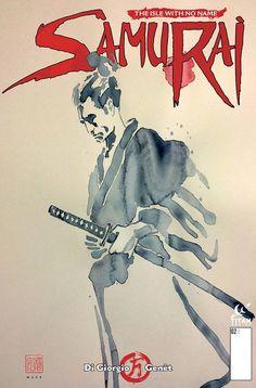 Samurai - David Mack cover