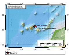 Terremoto sentido en Tenerife madrugada domingo 30 octubre