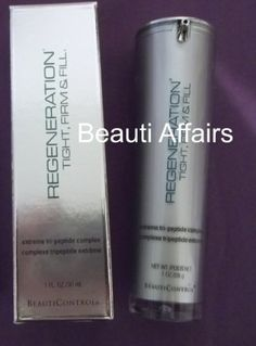 BeautiControl Regeneration Tight, Firm & Fill Extreme Tri-Peptide Complex by BeautiControl. $74.99. Combats the signs of aging effectively. Protects skin from free radical damage. Visibly reduces the look of fine lines and wrinkles. Brightens and smoothes the complexion. Firms sagging skin,  1.0 fl oz. See the reversal of time in as little as 30 minutes.  Watch the appearance of fine lines disappear, deep wrinkles lessen. Witness a noticeable radiance, feel a forgotten f...