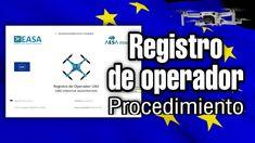 REGISTRO DE OPERADOR / PROCEDIMIENTO / CON CERTIFICADO DIGITAL Drones, Certificate