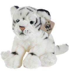WWF- valkoinen tiikeripehmo 23 cm