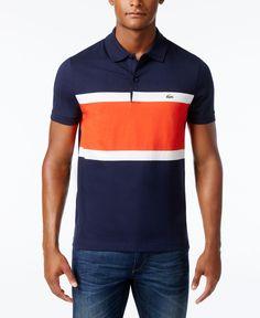 Lacoste Men's Santino Colorblocked Polo