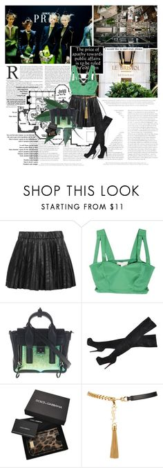 """I would like to start over, please."" by vexybabe ❤ liked on Polyvore featuring Lara, Karl Lagerfeld, 3.1 Phillip Lim, Isabel Marant, Christian Louboutin, Dolce&Gabbana and Yves Saint Laurent"