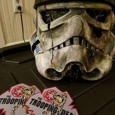 Storm Trooper Costume, Skull, Costumes, Art, Storm Trooper Suit, Art Background, Dress Up Clothes, Fancy Dress, Kunst